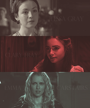 Girls from the shadowhunters