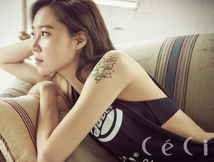 Gong Hyo Jin For CéCi's June 2015 Issue