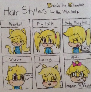 Hair Styles Meme : Dash the Cheetah