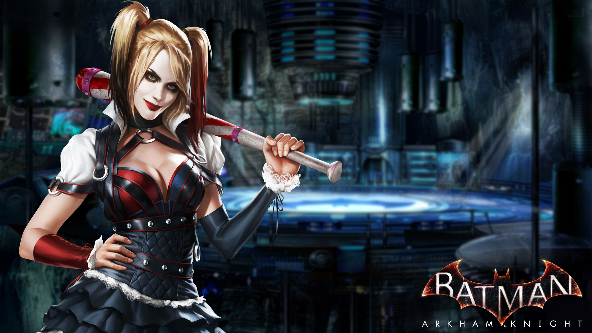 batman arkham series images harley quinn hd wallpaper and background