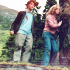 Harry and Hermione photo possibly containing a wickiup, a horse wrangler, and a bridle path titled Harmony
