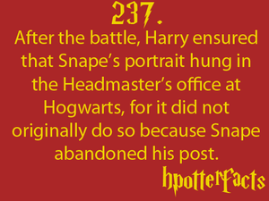 Harry Potter Fact 237