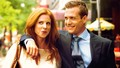 suits - Harvey and Donna wallpaper