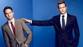 suits - Harvey and Mike wallpaper