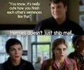 Hermes doesn't just ship mail.... ;) - percabeth photo