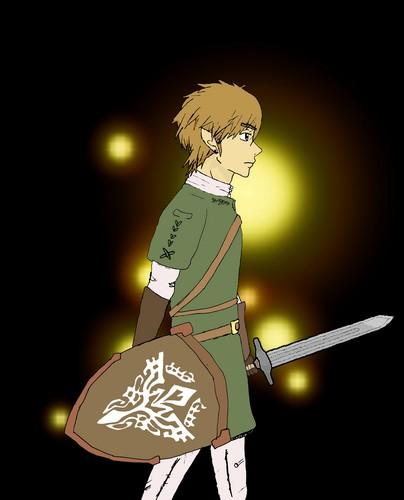 The Legend of Zelda wallpaper entitled Hero Link