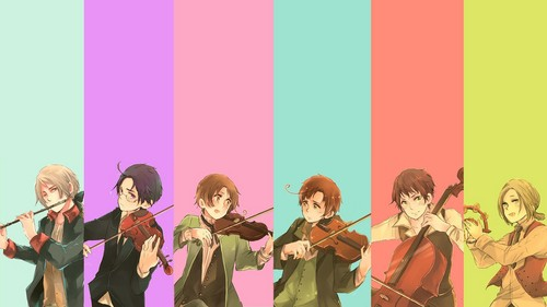 Hetalia wallpaper entitled Hetalia   music = gloriousness