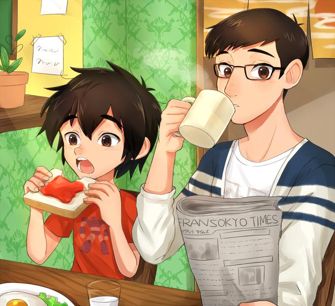 Hiro and tadashi big hero 6 fan art 38516490 fanpop