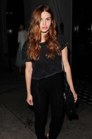 Holland Roden has jantar at Craigs on June 19, 2015 in Los Angeles