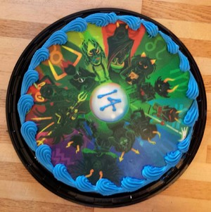 Homestuck Birthday cake