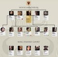 House Baratheon Family درخت (after 5x10)