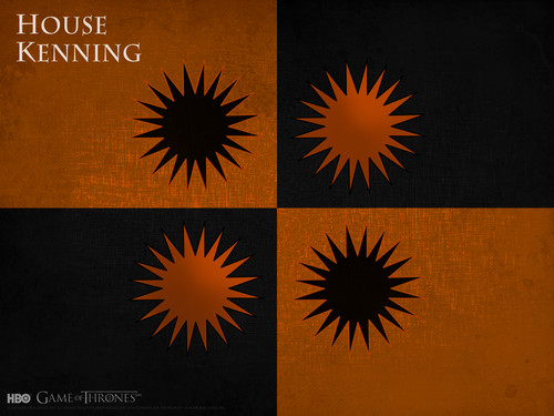 Game of Thrones wallpaper possibly containing a sign called House Kenning