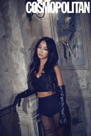 Hyorin for 'Cosmopolitan'