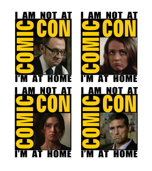 I am not at the Comic Con (POI Edition)
