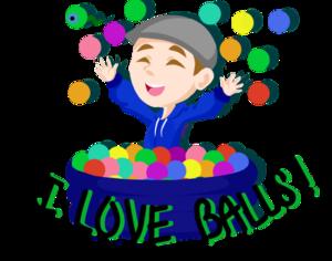 I tình yêu balls!