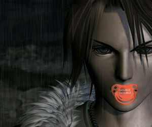 IT'S SQUALL LEONHART cagna BABY