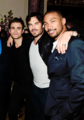 Ian, Paul Wesley and Charles Michael Davis