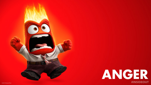 dessins animés fond d'écran called Inside Out Anger fond d'écran