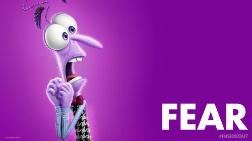 Pixar fond d'écran titled Inside Out Fear fond d'écran