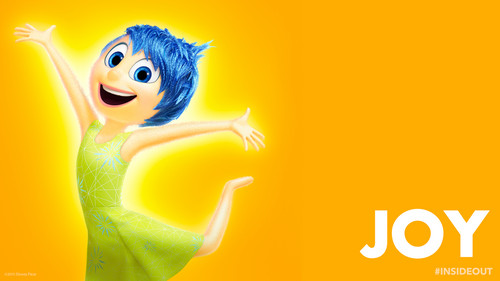 disney wallpaper titled Inside Out Joy wallpaper