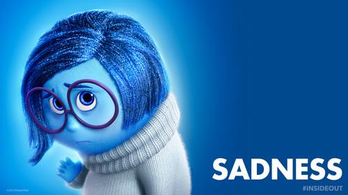 dessins animés fond d'écran entitled Inside Out Sadness fond d'écran