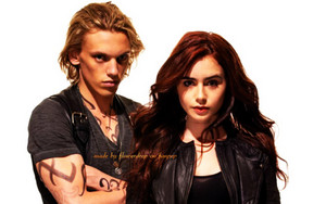 Jace and Clary Wallpaper