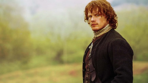Outlander 2014 TV Series پیپر وال entitled Jamie