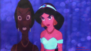 Jasmine and Tiana