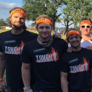 Jensen Ackles at Tough Mudder