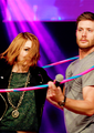 Jensen and Felicia Day - jensen-ackles photo
