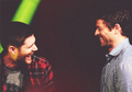 Jensen and Misha Collins - jensen-ackles photo