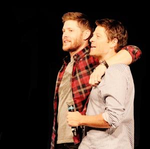Jensen and Misha Collins