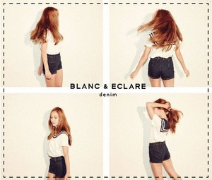 """Jessica Jung model for the launch of """"BLANC"""