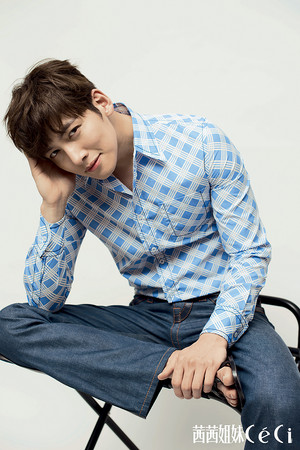 Ji Chang Wook For CéCi China's June 2015 Issue
