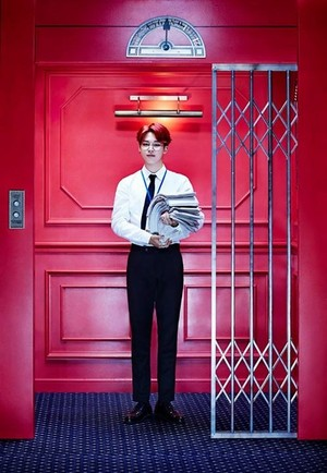 Jimin teaser Bilder for 'Sick'