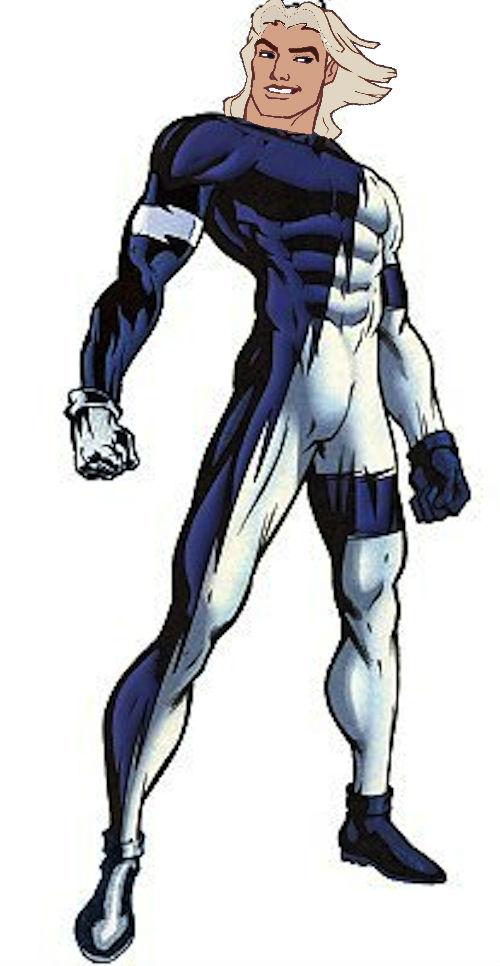 John Smith as Quicksilver