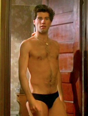 John Travolta in sous-vêtements, undies