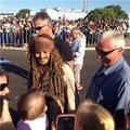 Johnny meets little fans on set of POTC 5 (June 2015) - johnny-depp photo