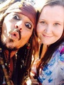 Johnny with fans on set of POTC 5 (June 2015) - johnny-depp photo
