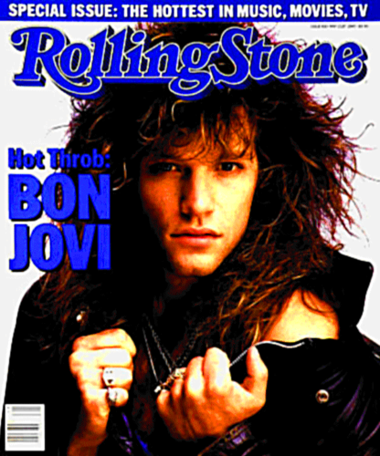 Bon Jovi wallpaper probably containing anime and a portrait called Jon Bon Jovi