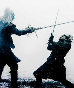Jon Snow & White Walker
