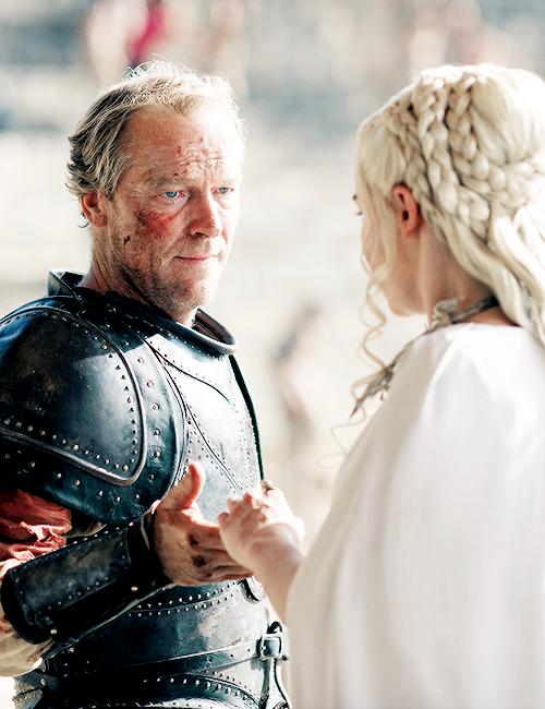 Jorah Mormont and Daenerys Targaryen - Game of Thrones Fan Art ...