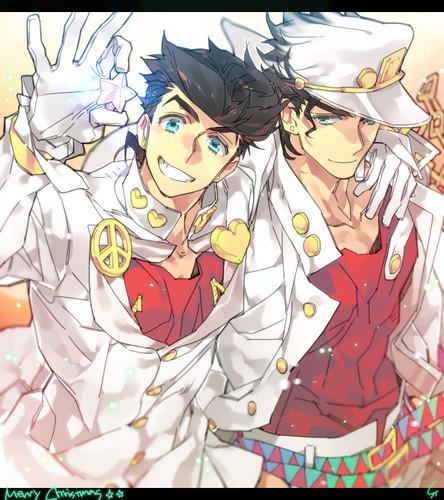 JoJo's Bizarre Adventure Images Josuke And Jotaro HD