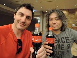 Jun Suneo and Johnny Gioeli