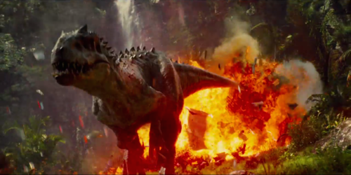 Jurassic World پیپر وال containing a آگ کے, آگ and a آگ کے, آگ called Jurassic World Indominus Rex