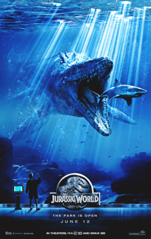 Jurassic World Posters - The Mosasaurus