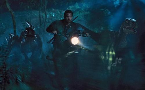 Jurassic World karatasi la kupamba ukuta called Jurassic World