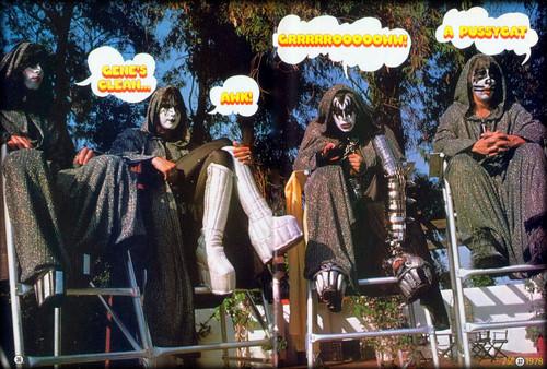 Кисс встречают привидение парка  kiss meets the phantom