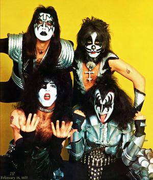 KISS (NYC) February 18, 1977