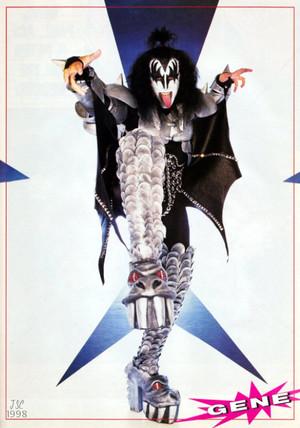KISS ~Psycho Circus picha shoot 1998